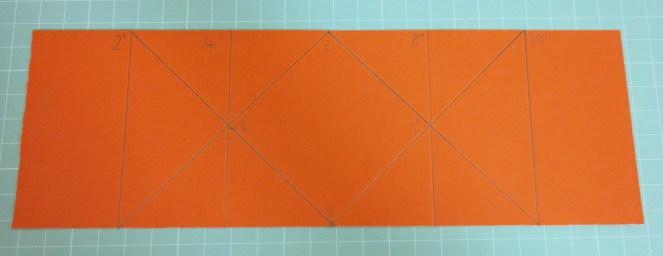 How to make a Diamond Fold Card Template