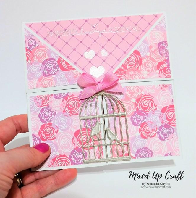 Gatefold Valentines Card