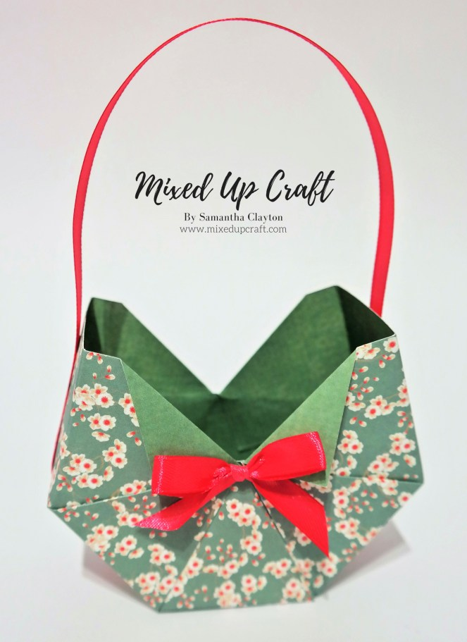 Octagon Shaped Gift Bag