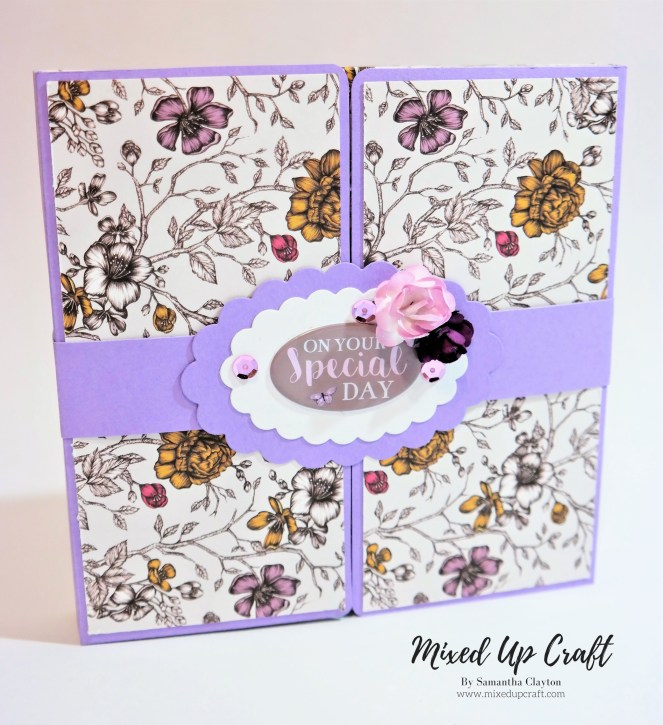 How to make a Gate-fold Shadow Box Card