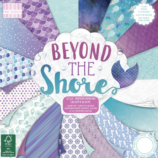 Beyond The Shore paper pack.