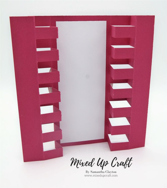 Double Tower Fold Card