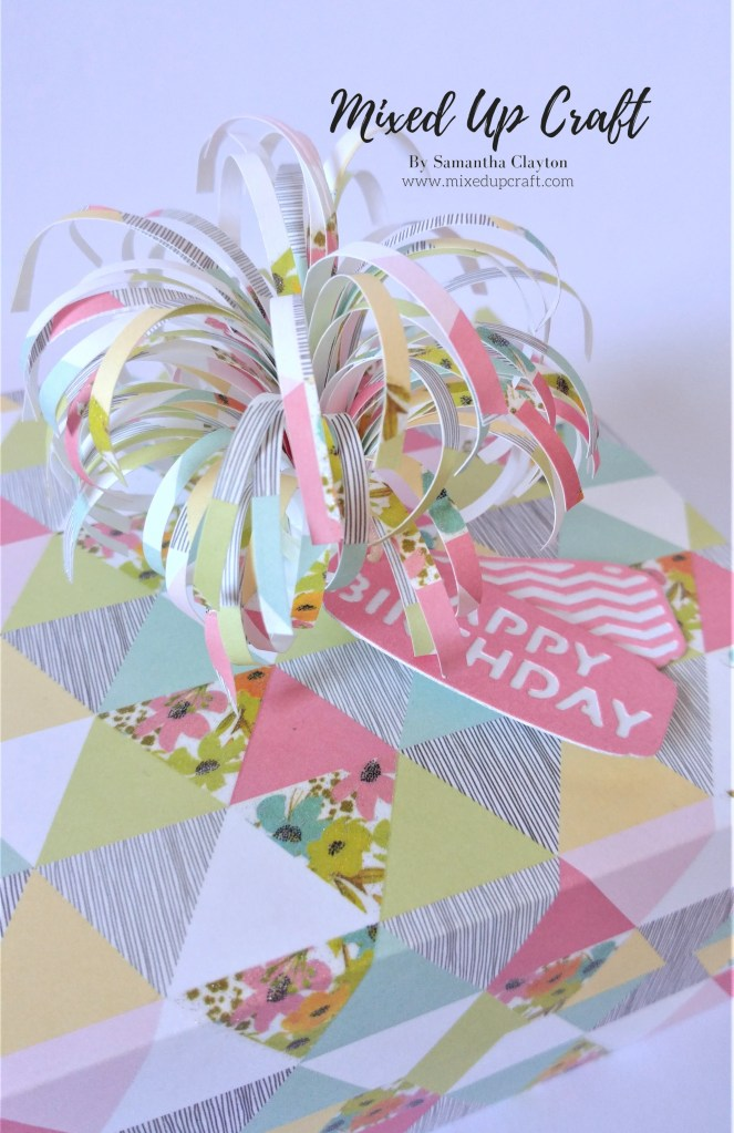 Reinforced Gift Box with Firework Topper