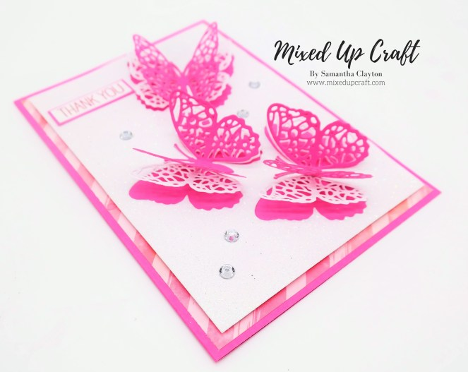 Silhouette Butterfly Card
