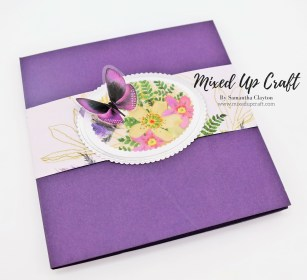 Double Twisted Easel Card