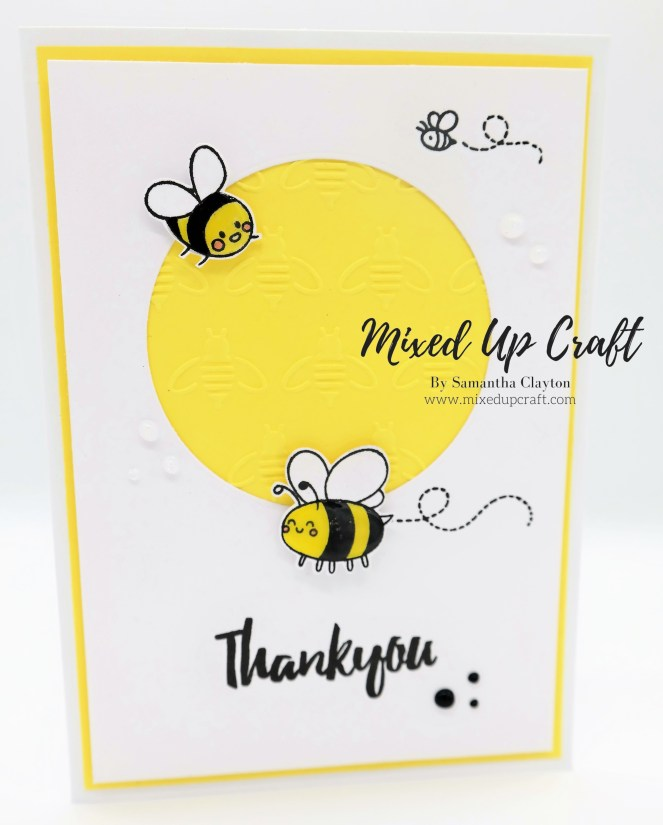 Busy Bees Thank You Card