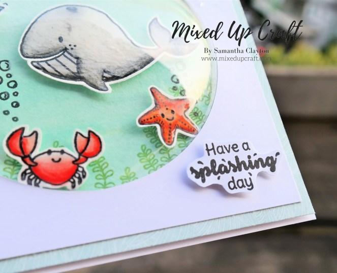 Bubble Front Card