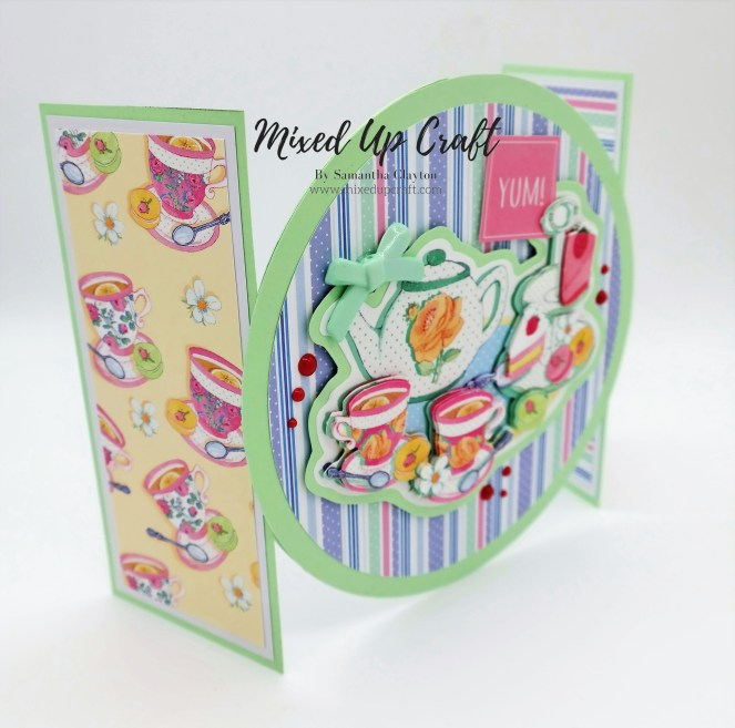 Disc Gatefold Card