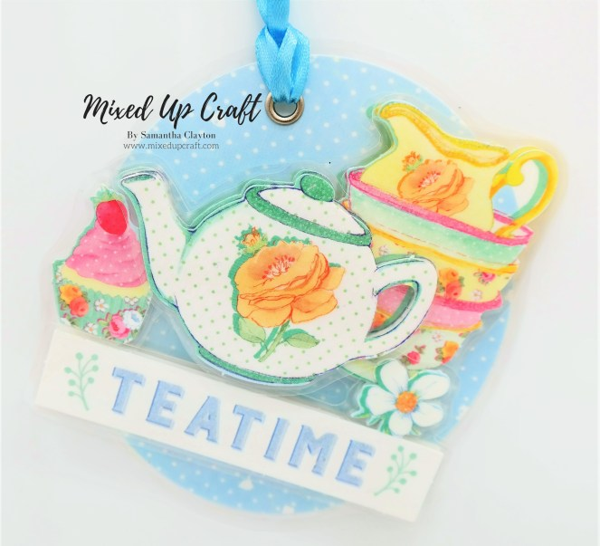 Laminated Decoupage Gift Tag