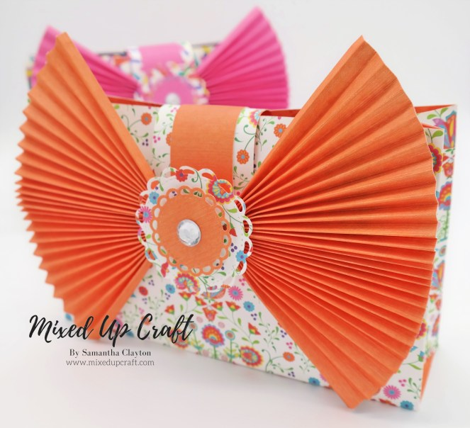 Big Bow Clutch Bag