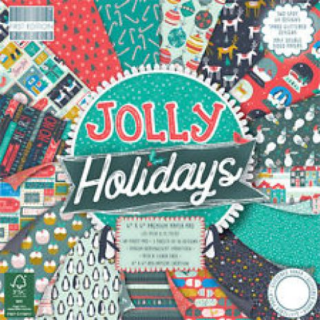 "First Edition ""Jolly Holidays"" Paper Pack"