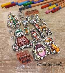 Furry & Bright Stamp Set, For the Love of Stamps