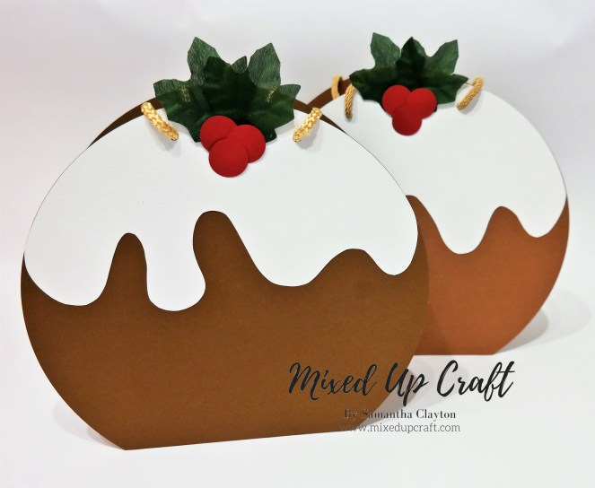 Festive Gift Bags, Christmas Puddings