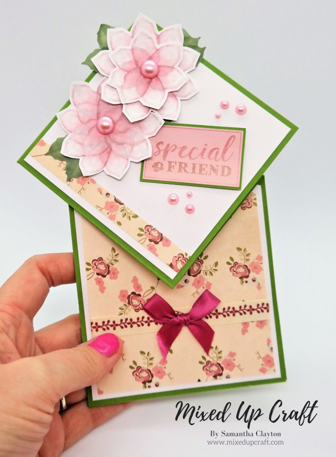 Diamond Top Fold Card