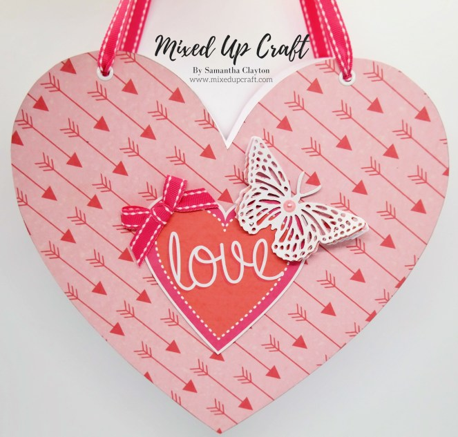 Heart Shaped Gift Bag