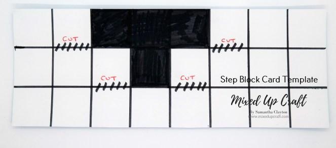 Block Step Card Template