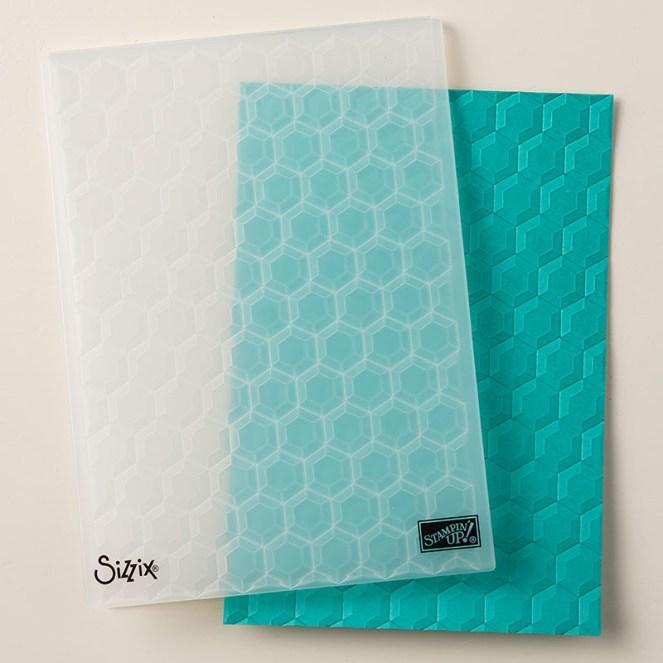 Hexagon Embossing Folder