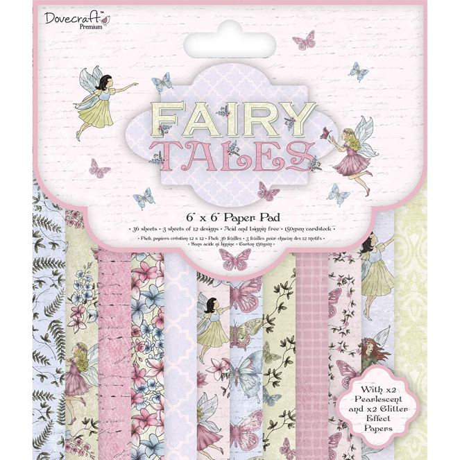 Dovecraft Fairy Tales Paper Pad