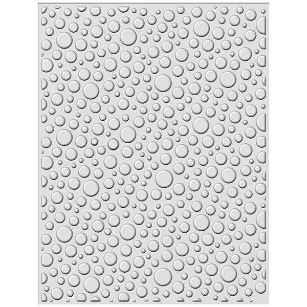 Bubble Burst Embossing Folder