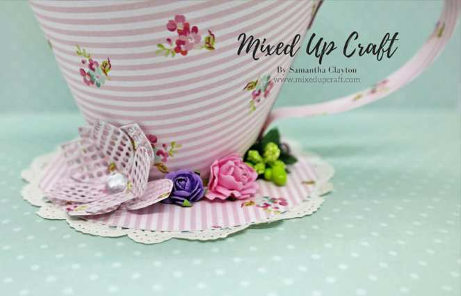 Pretty Tea Cup and Saucer
