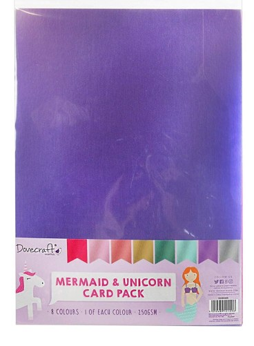 Mermaid and Unicorn card pack.