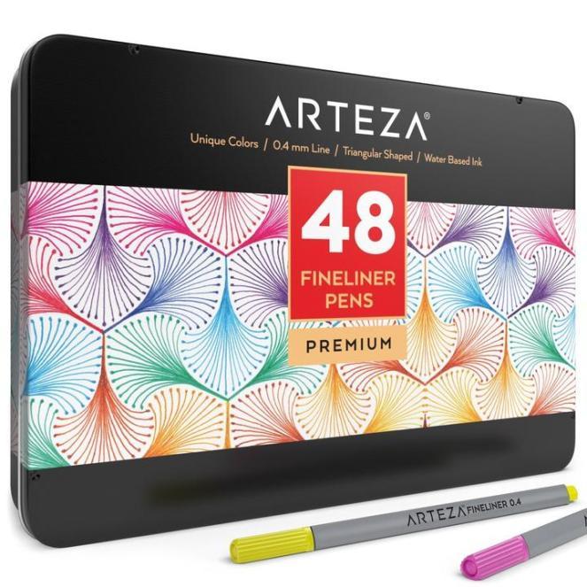 Arteza Fineliner Pens