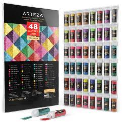 Arteza Fine Glitter Jars