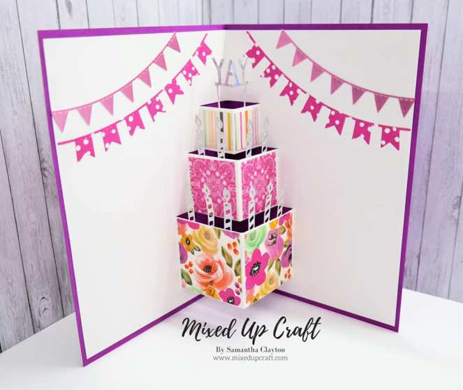 Pop-Up Birthday Cake Card