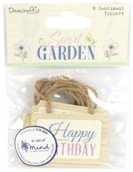 Secret Garden Sentiment Toppers
