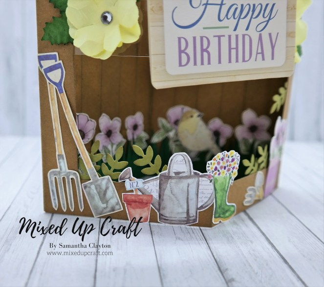 Floating Pop Box Card