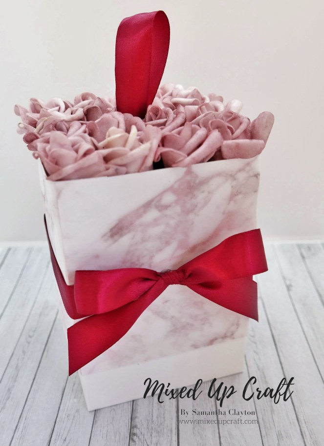 Flower Bouquet Gift Box