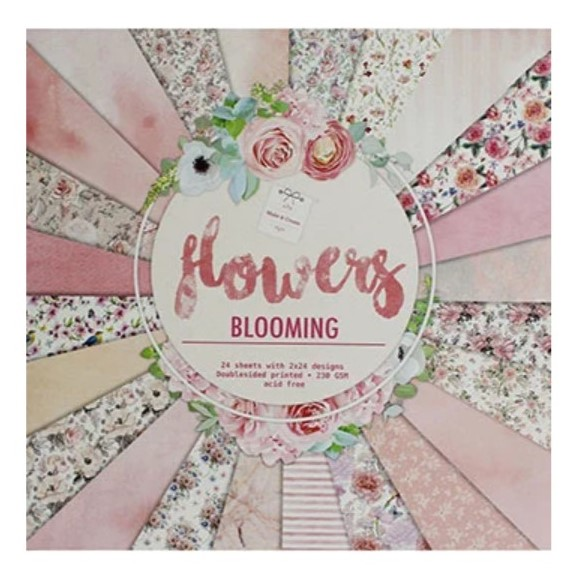 Flowers Blooming Paper Pack