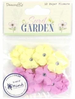 Secret Garden Paper Flowers