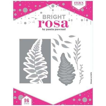 Bright Rosa Fern Border