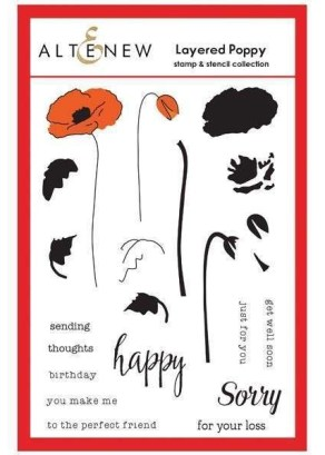 Altenew Layered Poppy Stamp