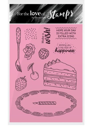 A slice of happiness stamp set