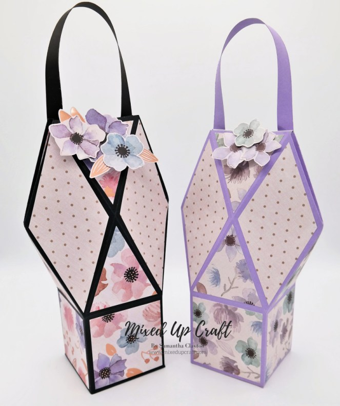 Handbag Style Faceted Gift Bag