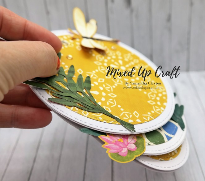 Triple Easel Fold Card