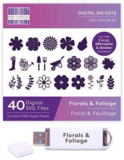 First Edition Digital Florals and Foliage Dies