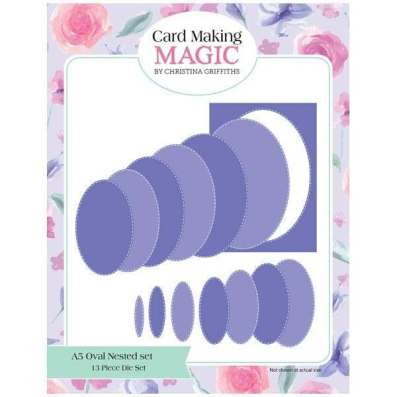 Cardmaking Magic Oval Nested Dies