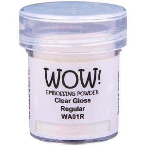 Clear WOW embossing powder