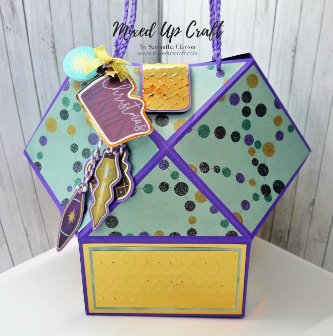 Squashed Faceted Gift Bag