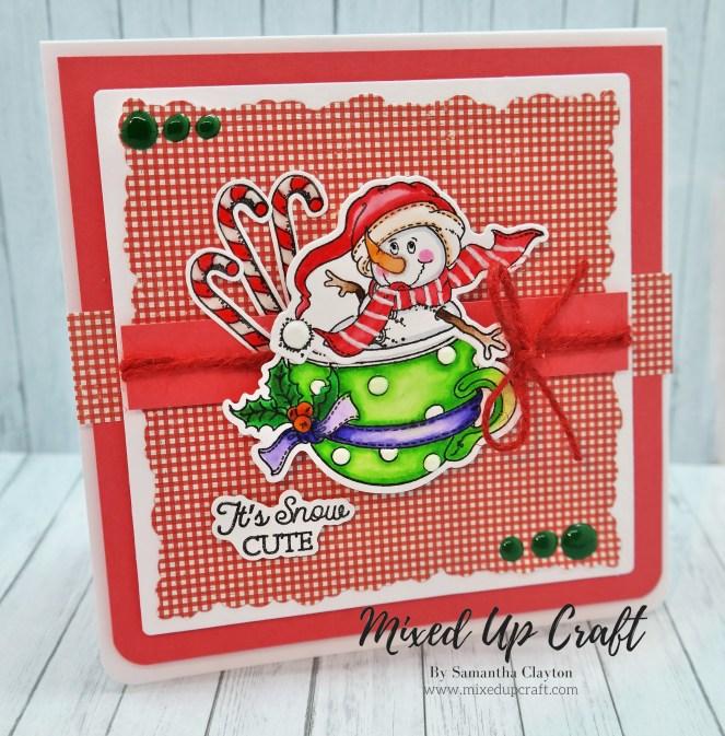 Christmas Tea-Cup Card