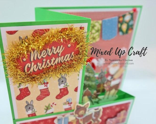 Double Z Fold Pop-Up Card