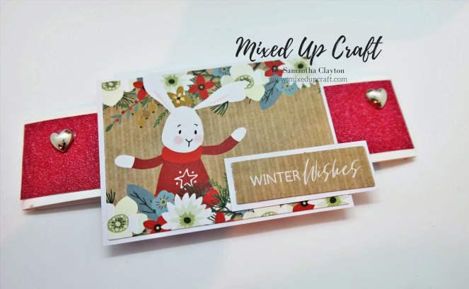 New Size 6 X 6 Pop-Out Gatefold Card