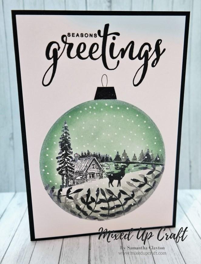 Silhouette Christmas Scene Cards