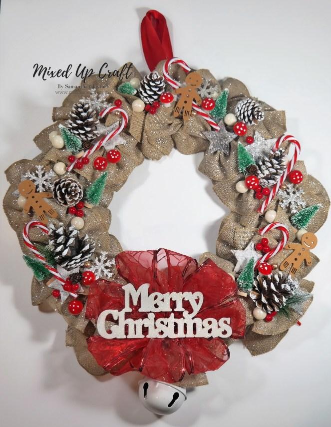 Beautiful DIY Christmas Wreath