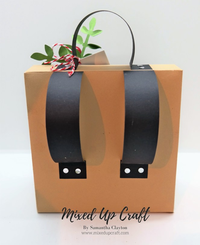 Festive Backpack Gift Bag