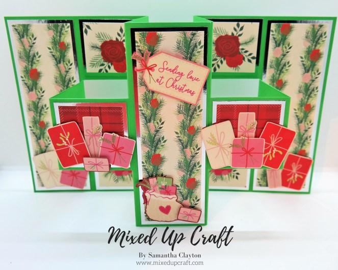 Double Pop-Out Z Fold Card