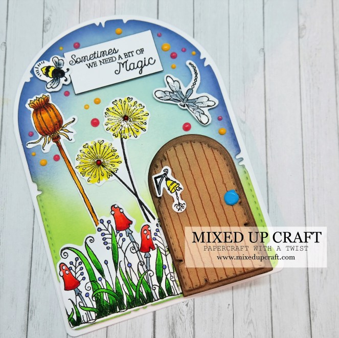 Cute Fairy Door Card!